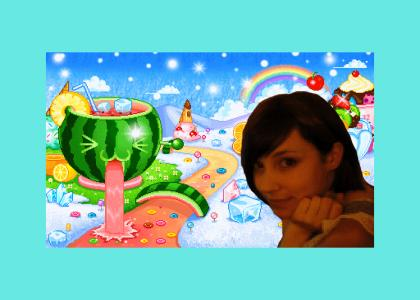 The Coolest Girl You Knew In Candyland