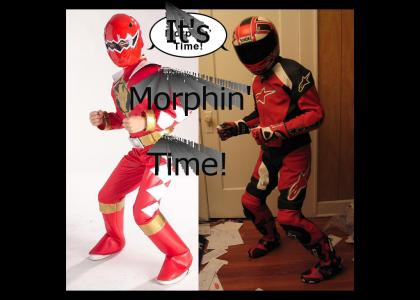 It's morphin' Time!