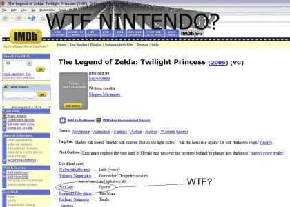 Nigga Stole My Horse! v.Legend of Zelda (OFFTOPIC RULES)