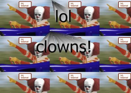 Lol, Pennywise is the Internet