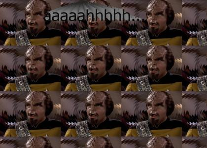 Worf Reaches Enlightenment