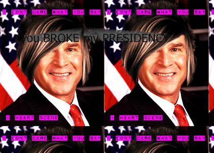 George Bush: Scenester