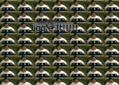 Fat Kid Jiggles It