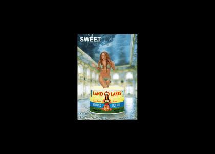 Mariah Carey Dancing in Butter