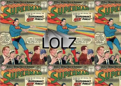Superman's new power