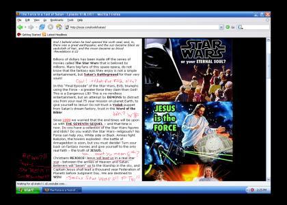 Star Wars vs Religion WTF part1