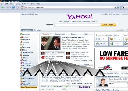 Fuck you Yahoo!!!