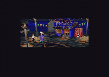 Stan Sells EVERYTHING To Guybrush (Monkey Island)