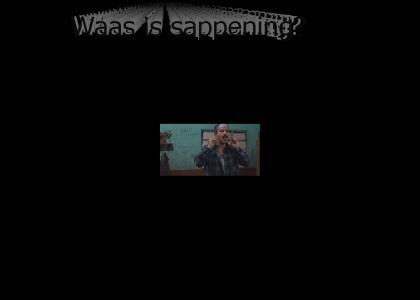 WAAS SAPPENING Spainards?