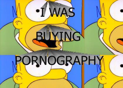 I was buying pornography