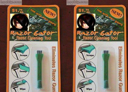 Razor Gator. New and Improved!!