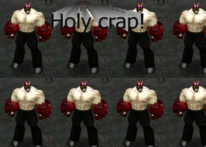 Strong Bad on City of Heroes?