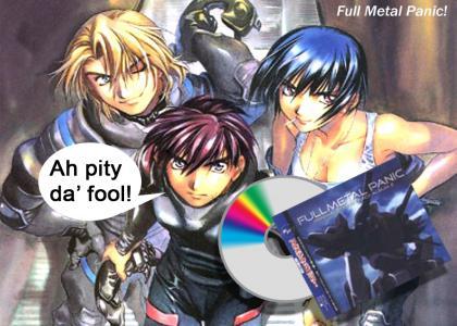 Full Metal Panic = A-Team?
