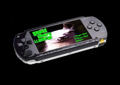Llama's on PSP!