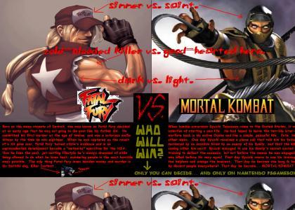 Fatal Fury vs. Mortal Kombat