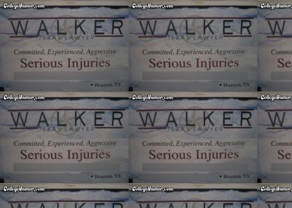 Walker, texas lawyer