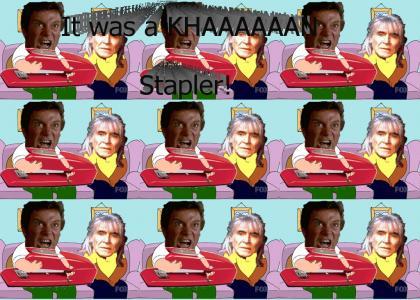Khan Stapler 12: But It Wasn't a Khan....