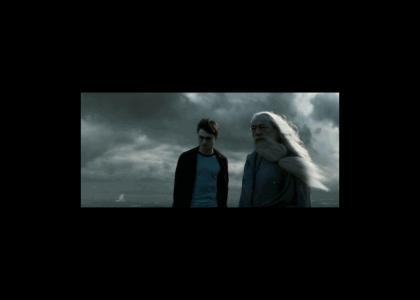 Harry and Dumbledore meet Paris Hilton
