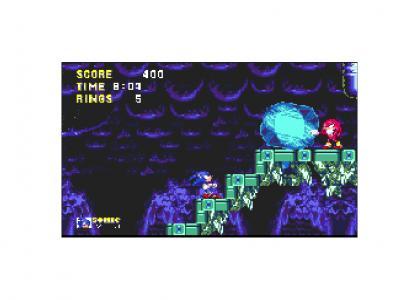 A real Katamari on the Rocks starring Sonic