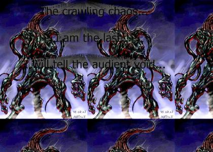 The Crawling chaos that is Nyarlathotep