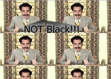 Borat is James David Manning