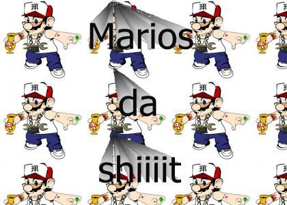 MARIO IS A GANGSTA