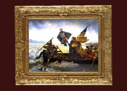 Super-Washington Crossing the Delaware