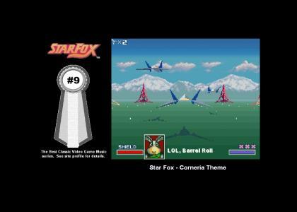 Star Fox - Corneria Theme (#9 Best Classic Video Game Music)