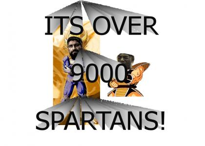 Over 9000 Spartans