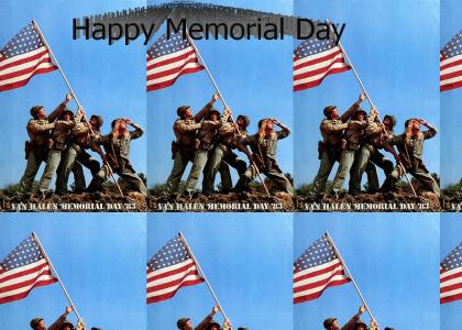 Happy Memorial Day from Van Halen