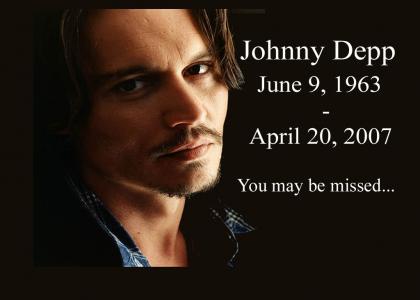 R.I.P. Johnny Depp