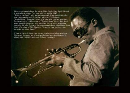 Legends of Jazz- #6: Miles Davis (Not Funny)
