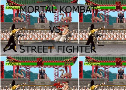 Mortal Kombat Vs. Street Fighter