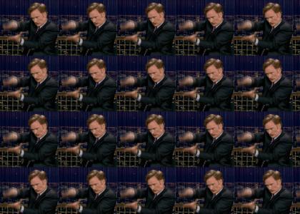 Conan... does a barrel roll!