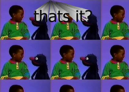 Grover tries to corrupt a child