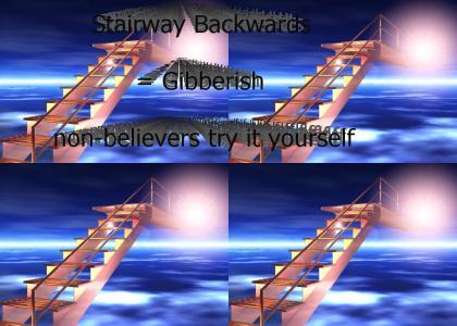 Stairway Backwards