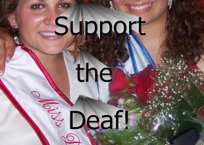 support the deaf