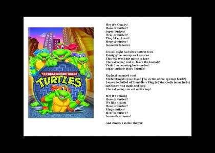 More Misinterpreted Lyrics - TMNT