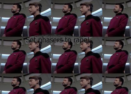Riker is a pedo!