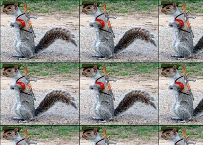 Commie Squirrel!