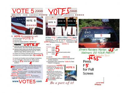 VOTE5TMND: VOTE 5 2008!!!