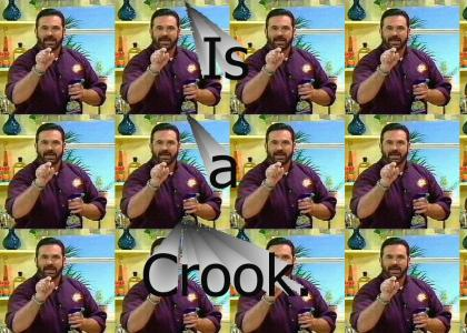 Billy Mays...(oxiclean guy)