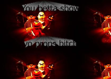 Elmo is a Gangsta Rapper!