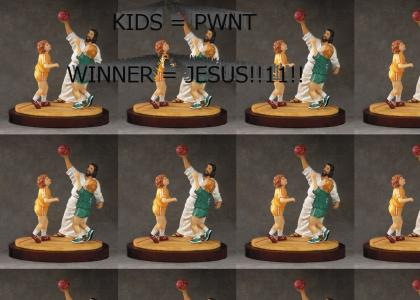 Jesus Basketball!