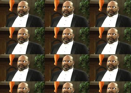 UNCLE PHIL IS HUNGRY