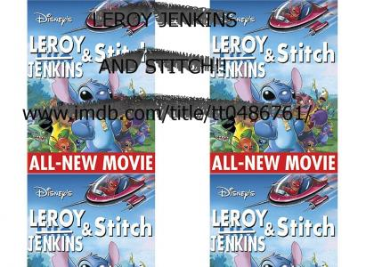 Leroy Jenkins and Stitch