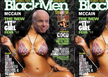 McCain Gets a Makeover for 2012