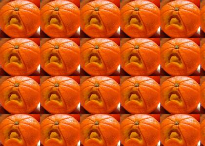 Emo oranges don't change facial expressions.