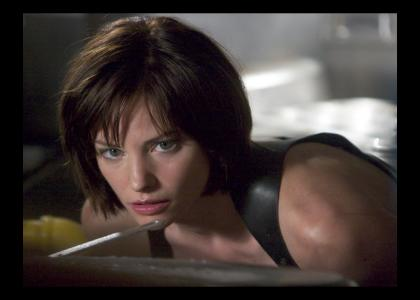 Jill Valentine Stares Into Your Soul