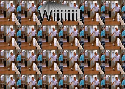 Kramer likes to Wii!